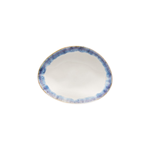 Brisa Ria Blue Oval Bread Plate - Set of 6 | Gracious Style