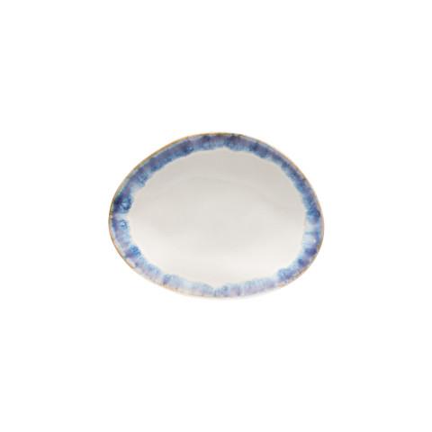 Brisa Ria Blue Oval Bread Plate | Gracious Style