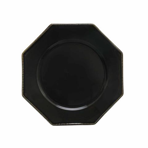 Luzia Dark Grey Dinnerware | Gracious Style