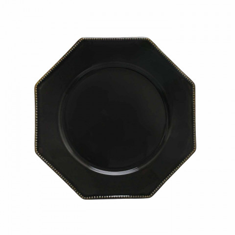 Luzia Slate Grey Dinnerware | Gracious Style