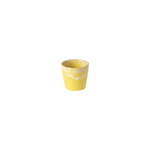 Grespresso Yellow Espresso Cup 2.25 H X 2.75 L X 2.75 W In | Gracious Style