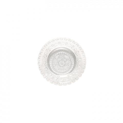 Heritage Cristal Glass Bread Plate | Gracious Style