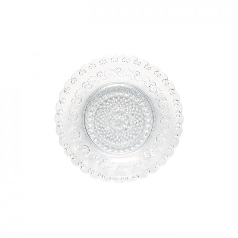 Heritage Cristal Glass Salad Plate | Gracious Style
