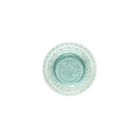 Heritage Aloe Glass Bread Plate | Gracious Style
