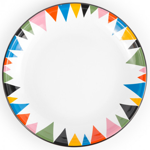 Lisa Congdon for Crow Canyon Home Enamel Dinnerware | Gracious Style