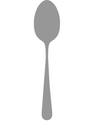 Goa Matte/Black Handle Serving Spoon 10.4 in | Gracious Style