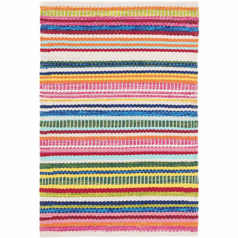 Bright Stripe Indoor Outdoor Rugs | Gracious Style