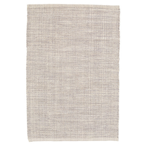 Marled Grey Woven Cotton Rugs | Gracious Style