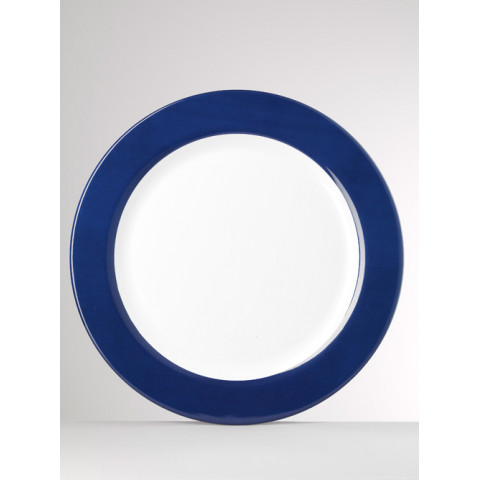 Corallo Melamine Blue Charger 16 in Round  | Gracious Style