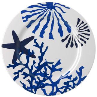 Corallo Blue Melamine Dinnerware | Gracious Style