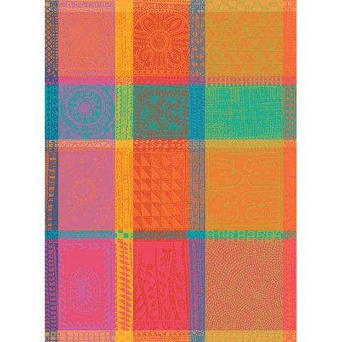 """Mille Wax Creole Kitchen Towel 22""""X30"""", 100% Cotton 