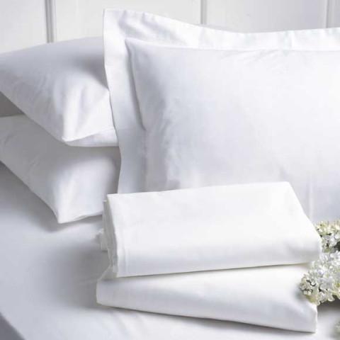Nice Bed Linens, Plain 300TC White | Gracious Style
