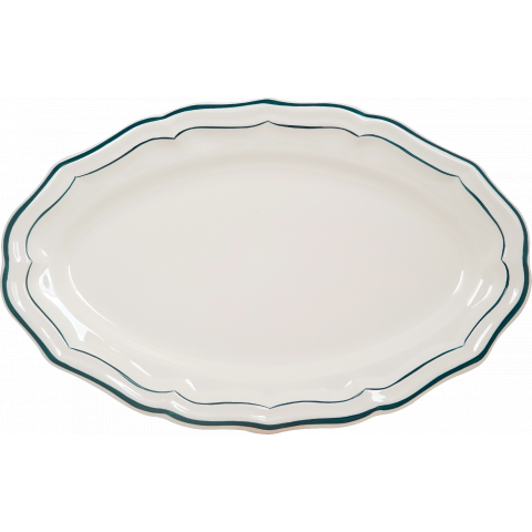 "Filet Acapulco Oval Platter 16"" Dia 
