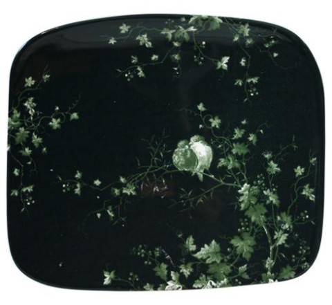 Les Oiseaux Organic Square Plate Small 7 5/16'' X 6 3/8'' | Gracious Style