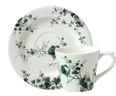 Les Oiseaux Tea Saucer 6 In Dia | Gracious Style