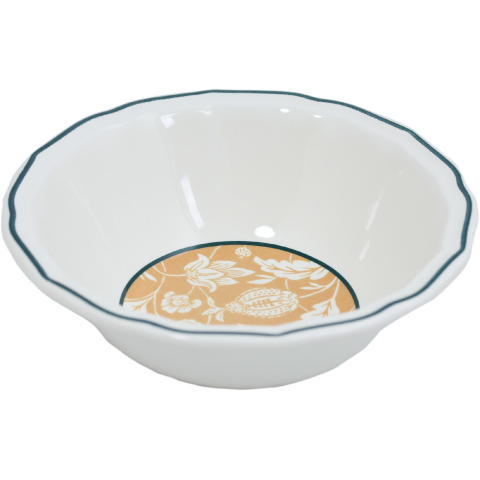 """Dominote Cereal Bowls Xl 7"""" Dia - 10 Oz - H 2 1/2 """" 