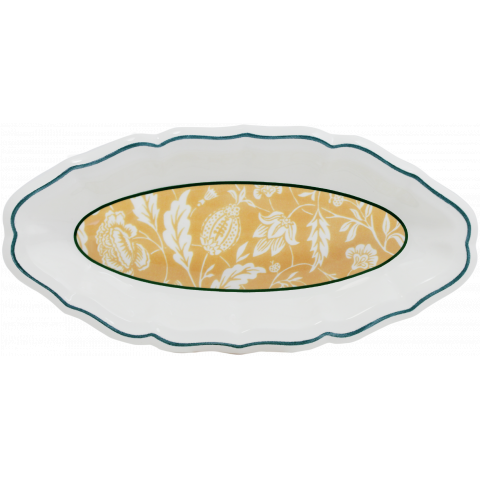"""Dominote Pickle Dish Indienne 9"""" Long 