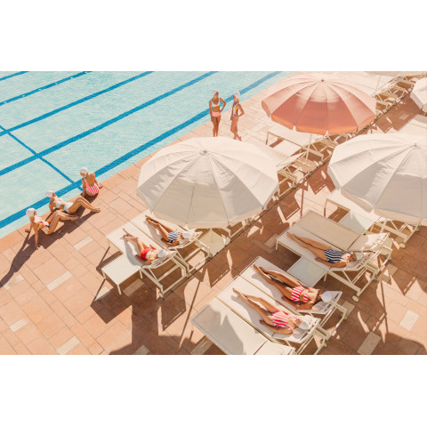 Coral Casino Beach & Cabana Club, Horizontal Gray Malin at the Coral Casino Photography (Special Order) | Gracious Style