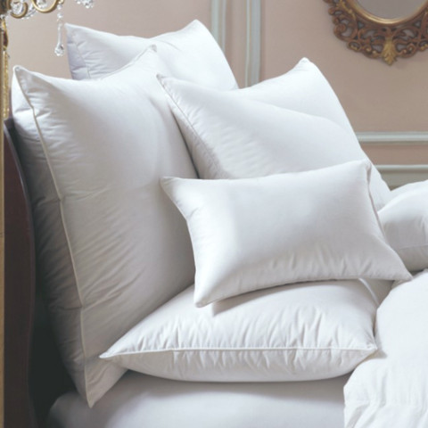 Bernina Hungarian Down Pillows | Gracious Style