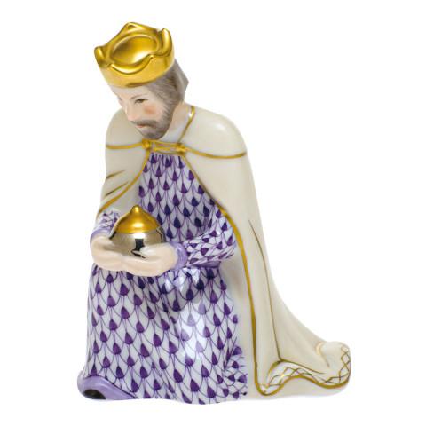 Beth1 (Nativity Set) Caspar 3 in. l X 2.75 in. w X 3.5 in. h | Gracious Style