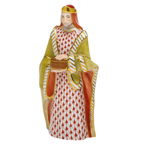 Beth1 (Nativity Set) Melchior 2.5 in. l X 1.75 in. w X 5.75 in. h | Gracious Style