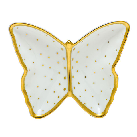 Fodos-x1 Connect The Dots Butterfly Dish 4.25 in. l X 1 in. h | Gracious Style