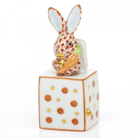 Shaded Vh Jack In The Box Bunny 1 in. l X 1 in. w X 2.75 in. h | Gracious Style