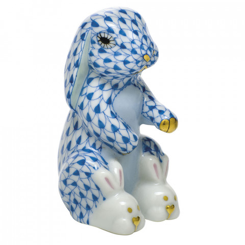 """Bunny Slippers 1.5""""L X 2.5""""H Shaded Vhb 