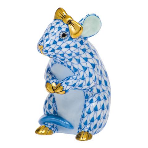 Shaded Vhb Mouse With Bow 2 in. l X 1.5 in. w X 2.5 in. h | Gracious Style