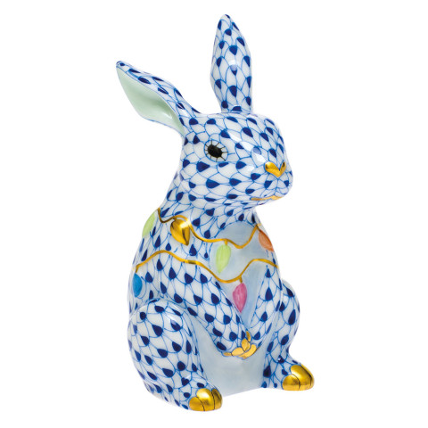 Svhb3 Bunny With Christmas Lights 2 in. l X 1.75 in. w X 3.5 in. h | Gracious Style