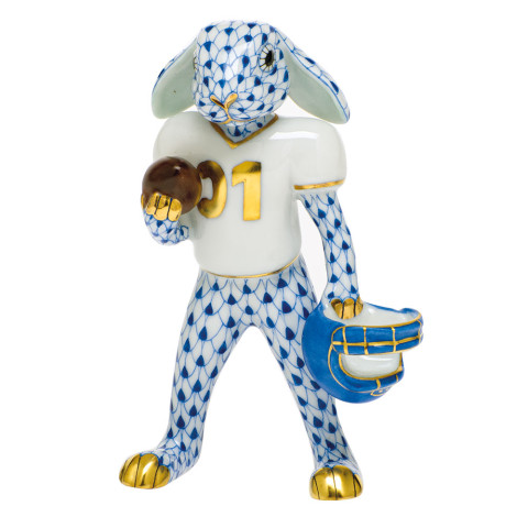 Svhb3 Football Bunny 2.5 in. l X 1.25 in. w X 3.75 in. h | Gracious Style