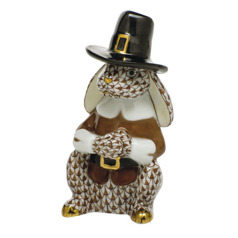 Shaded Vhbr2 Pilgrim Bunny 1.75 in. l X 3.25 in. h   Gracious Style