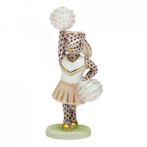 Shaded Vhbr2 Cheerleader Bunny 2.25 in. l X 1.5 in. w X 4.75 in. h | Gracious Style