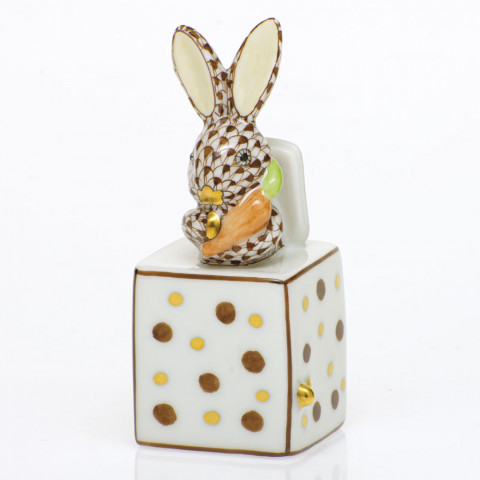 Shaded Vhbr2 Jack In The Box Bunny 1 in. l X 1 in. w X 2.75 in. h | Gracious Style