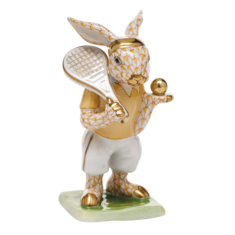 "Tennis Bunny 2.25""L X 3.75""H Shaded Vhj 