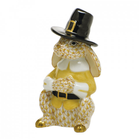 Shaded Vhj Pilgrim Bunny 1.75 in. l X 3.25 in. h | Gracious Style