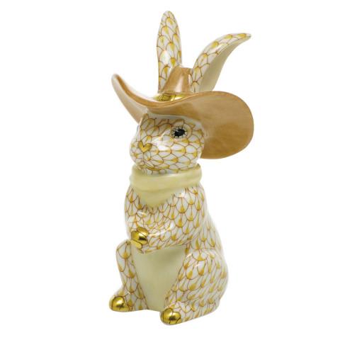 "Shaded Vhj Cowboy Bunny 2""L X 2""W X 3.5""H | Gracious Style"