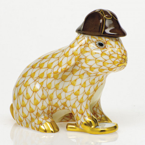 Shaded Vhj Sherlock Bunny 2.25 in. l X 1.5 in. h X 2 in. h | Gracious Style
