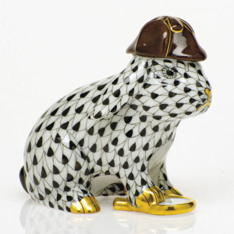 Shaded Vhnm Sherlock Bunny 2.25 in. l X 1.5 in. h X 2 in. h | Gracious Style