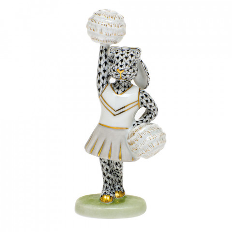 Shaded Vhnm Cheerleader Bunny 2.25 in. l X 1.5 in. w X 4.75 in. h | Gracious Style