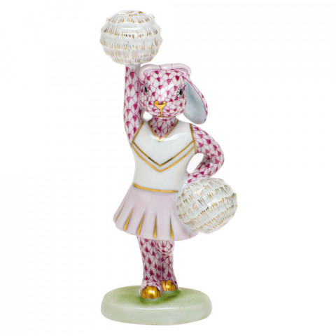 Shaded Vhp Cheerleader Bunny 2.25 in. l X 1.5 in. w X 4.75 in. h | Gracious Style