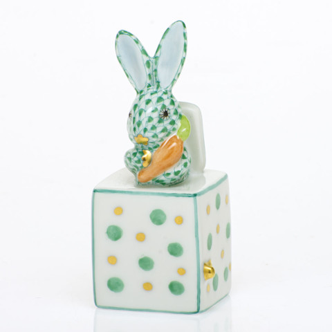 Shaded Vhv Jack In The Box Bunny 1 in. l X 1 in. w X 2.75 in. h | Gracious Style