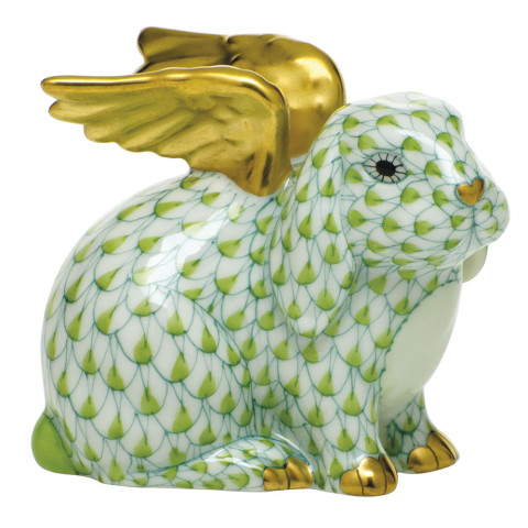 "Shaded Vhv1 Angel Bunny 2.25""L X 1.75""W X 2.5""H 