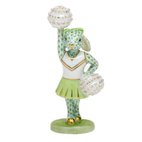 Shaded Vhv1 Cheerleader Bunny 2.25 in. l X 1.5 in. w X 4.75 in. h | Gracious Style