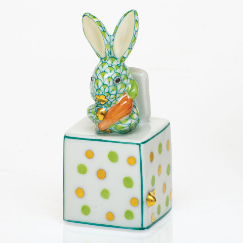 Shaded Vhv1 Jack In The Box Bunny 1 in. l X 1 in. w X 2.75 in. h | Gracious Style