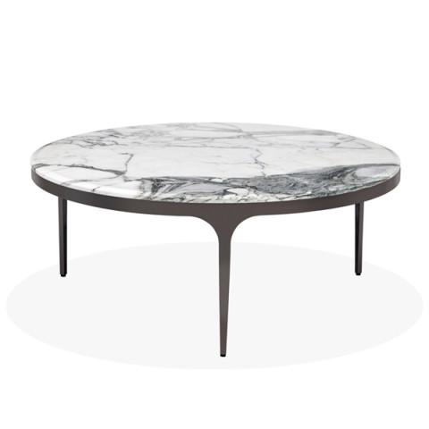 Camilla Cocktail Table - Arabescato | Gracious Style