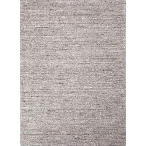 EL01 Elements Gray Undyed Wool Rugs | Gracious Style