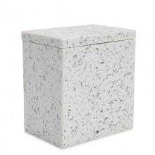 Terrazzo Cotton Jar   Gracious Style