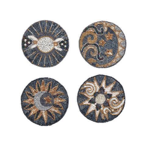 Celestial Set Of 4 Multi Coasters | Gracious Style
