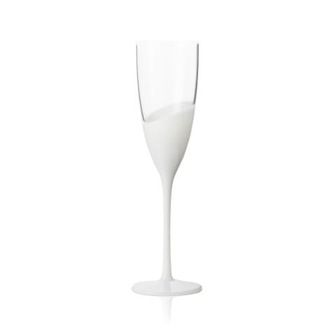 Vague Flute Clear/White | Gracious Style